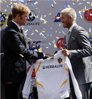 Herbalife Sponsorul Oficial al echipei LA Galaxy