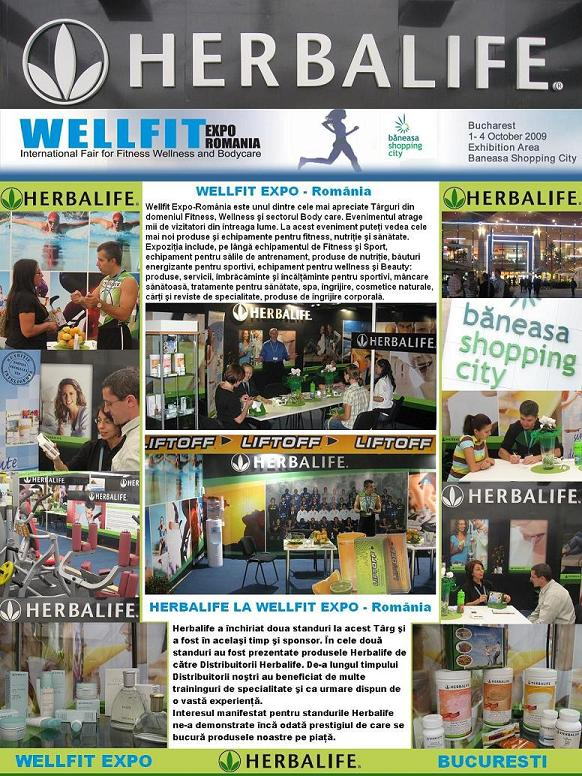 Herbalife La Wellfit Expo Romania