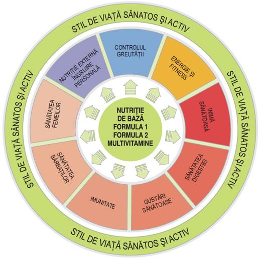 Diagrama Nutritiei Inteligente Herbalife