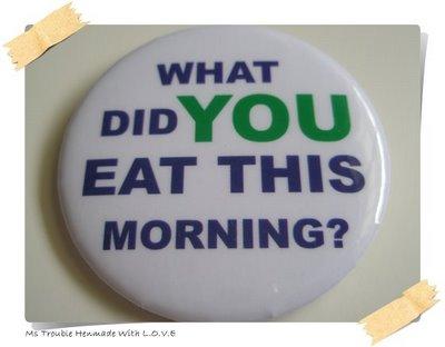 Ce mananci la micul dejun?
