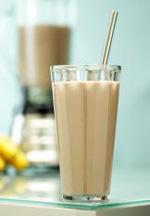 Shake cu aroma de ciocolata cu banane