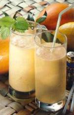 Shake cu aroma de capsuni si mango