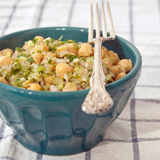 Salata marinata de naut