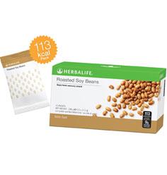 Boabe de soia cu fibre (12 pachete)