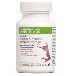 Formula 2 Herbalife Femei vitamine si minerale complex