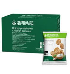 Herbalife Chipsuri proteice Smantana & ceapa 10 x 30 g